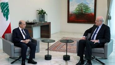 نائب رئيس مجلس النواب ايلي فرزلي يسمّي الرئيس نجيب ميقاتي لرئاسة الحكومة