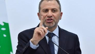 رئيس التيار الوطني الحرّ النائب جبران باسيل.