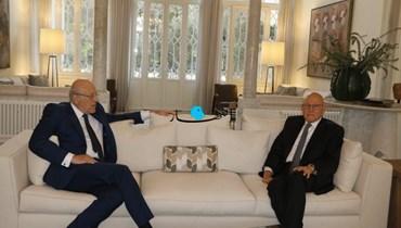 ميقاتي زار سلام في إطار جولته على رؤساء الحكومات السابقين