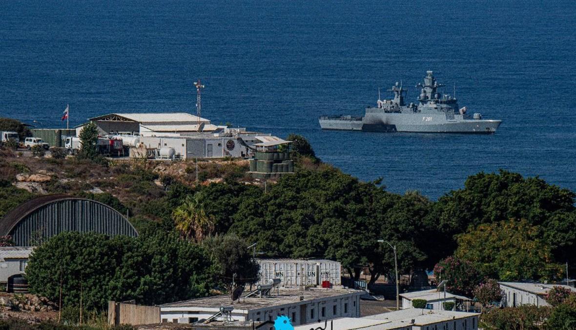 مشهد من الحدود البحرية الجنوبية (تصوير نبيل إسماعيل).