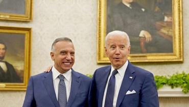 الكاظمي في واشنطن... هل الزيارة بداية للحملة الانتخابية؟ أي مصير ينتظر التواجد الأميركي؟ (صورة)