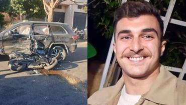 الملازم في قوى الأمن الداخلي رضا إبراهيم.