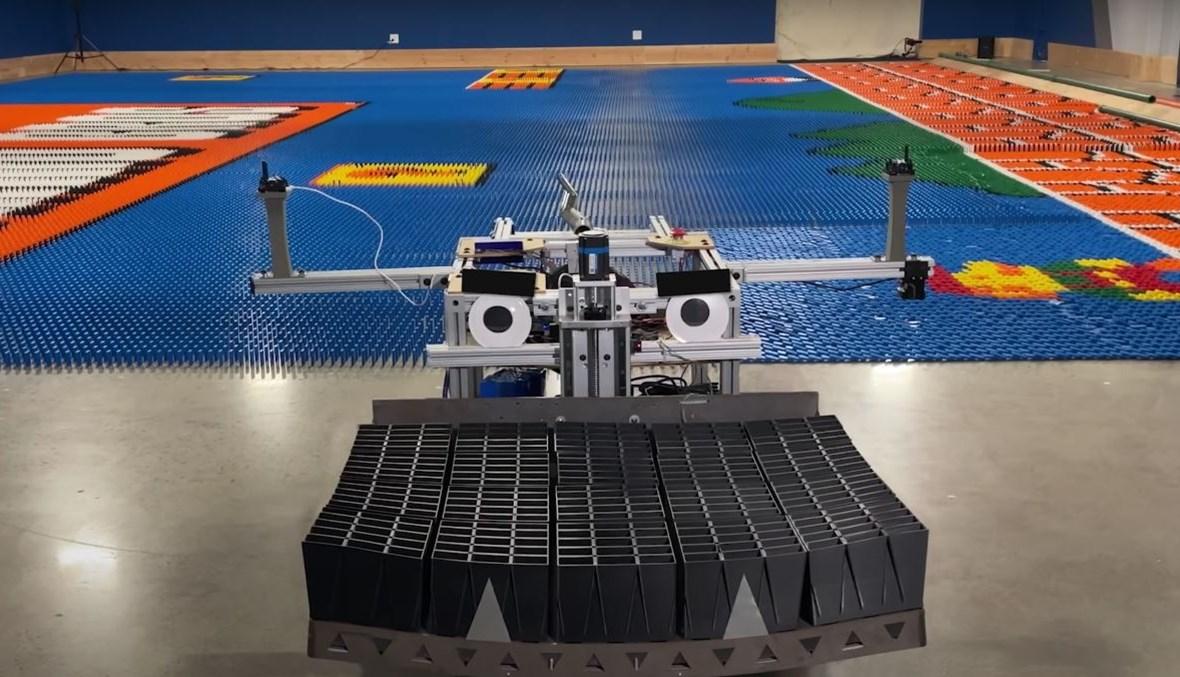 الروبوت ذو الإنجاز القياسي  (مارك روبير)