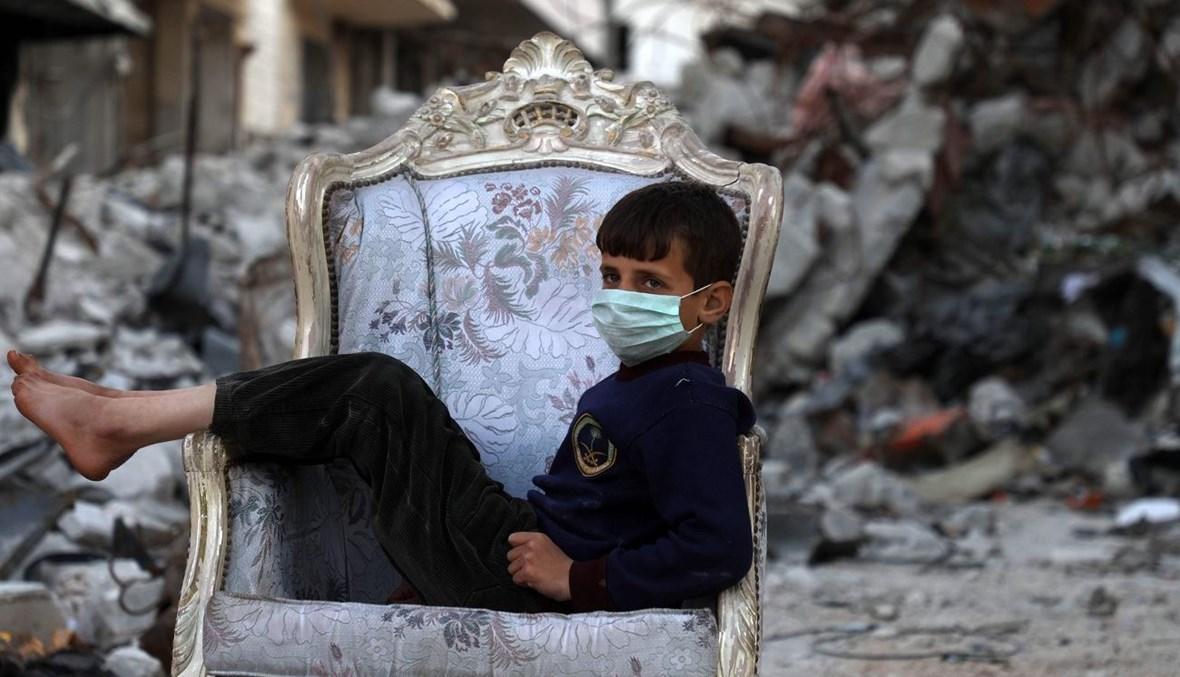 مأساة إدلب السورية (تعبيرية- أ ف ب).