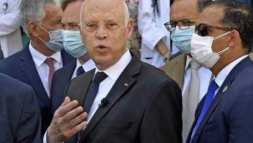سعيّد: ثمّة جهات تحاول تقسيم وتفجير الدولة من الداخل ولكن تونس فوق الجميع