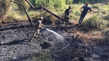 بالصور والفيديو: خسائر فادحة في قلب عكار... ونجاح في إخماد الحرائق