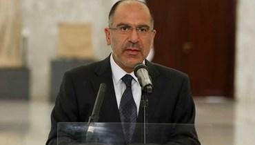 المدير العام لرئاسة الجمهورية أنطوان شقير