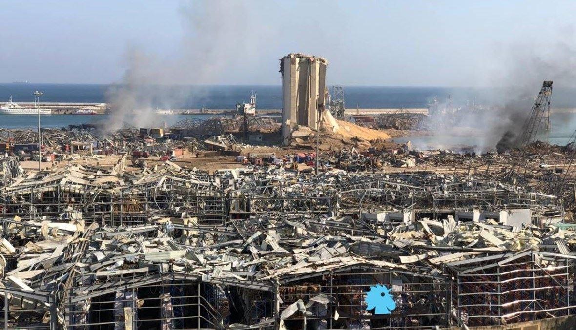 فاجعة مرفأ بيروت (النهار).