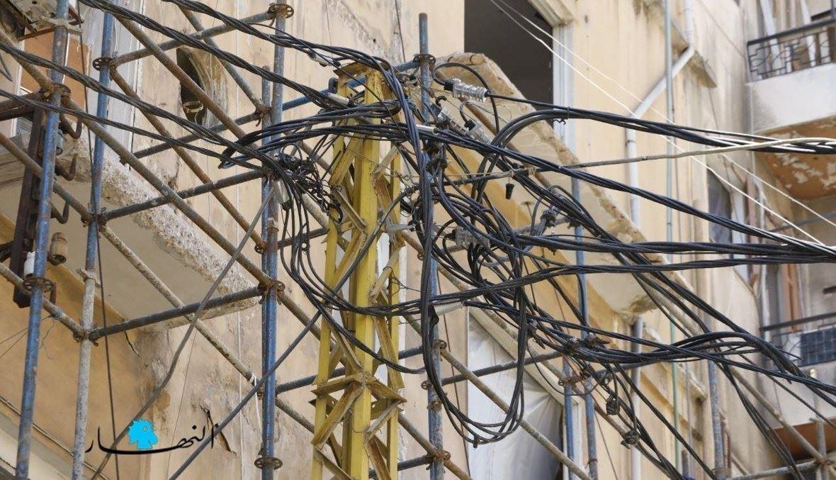 إمدادات كهربائية (تصوير مارك فياض).