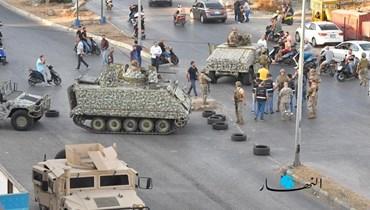الاشتباكات في خلدة وسط انتشار كثيف للجيش اللبناني (تصوير حسام شبارو).