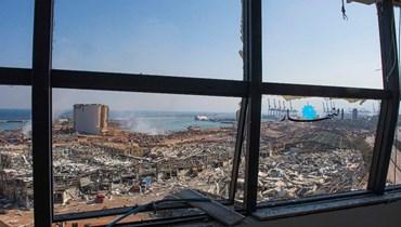 """""""هيومن رايتس ووتش"""" تتهم السلطات اللبنانية بالإهمال """"جنائياً"""" جراء انفجار المرفأ"""