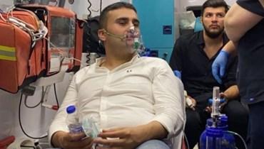 الشيف بوراك يتعرّض للاختناق خلال مشاركته في إطفاء الحرائق