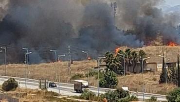 المدفعية الإسرائيلية تقصف مناطق داخل لبنان رداً على إطلاق 3 قذائف صاروخية.