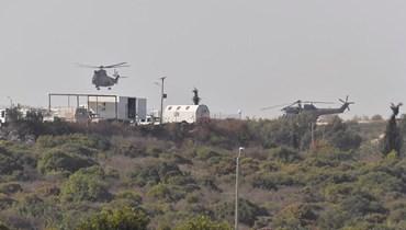 قاعدة اليونيفيل في الناقورة ( تصوير نبيل إسماعيل)