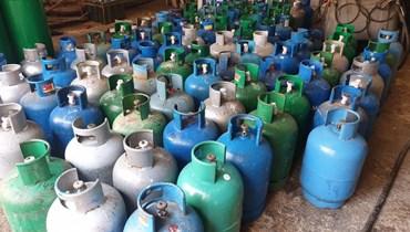 قوارير الغاز في قريطم.