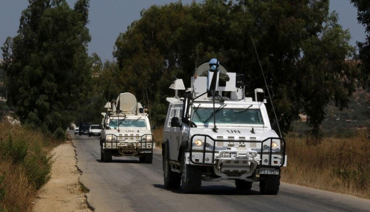 قوات اليونيفيل في جنوب لبنان (ا ف ب)