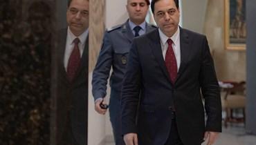 رئيس حكومة تصريف الأعمال حسان دياب.