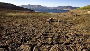 ظاهرة الجفاف في كاليفورنيا (أ ف ب).