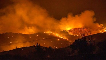 صورة من الحرائق