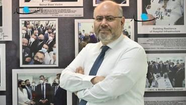 مدير مستشفى رفيق الحريري الجامعي الدكتور فراس أبيض.