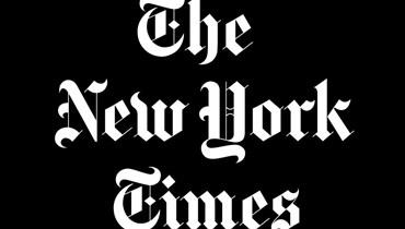"""شعار """"نيويورك تايمس""""."""