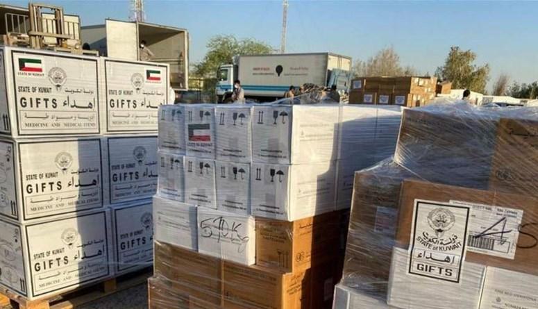 مساعدات طبيّة عاجلة من الهلال الأحمر الكويتي في طريقها إلى لبنان