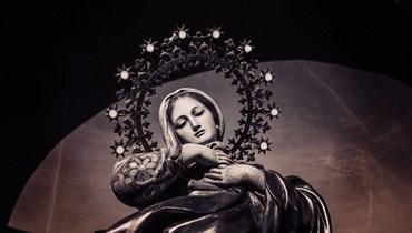 العذراء مريم.