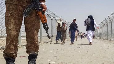 """حركة """"طالبان"""" (أ ف ب)."""