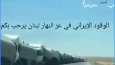 لقطة شاشة من الفيديو المتناقل بالمزاعم الخاطئة (فايسبوك.