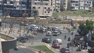 صورة منمنطقة الاشتباكات