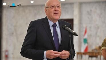 الرئيس المكلّف نجيب ميقاتي (تصوير حسام شبارو).