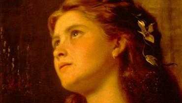 fv,vبورتريه لجنّية بريشة الرسامة البريطانية الفرنسية صوفي أندرسن.