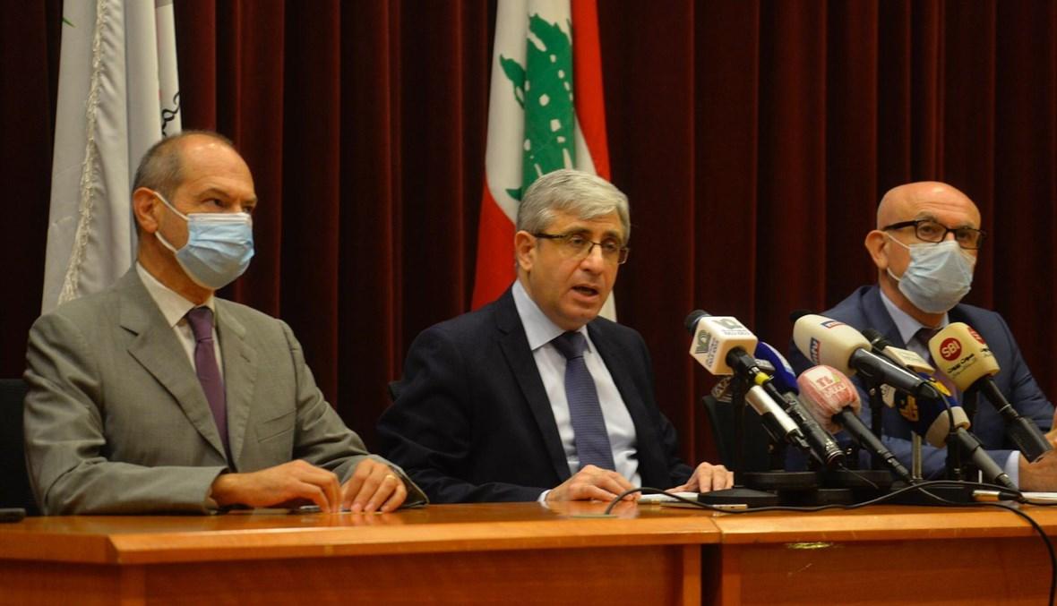وزير التربية طارق المجذوب. (تصوير حسام شبارو)