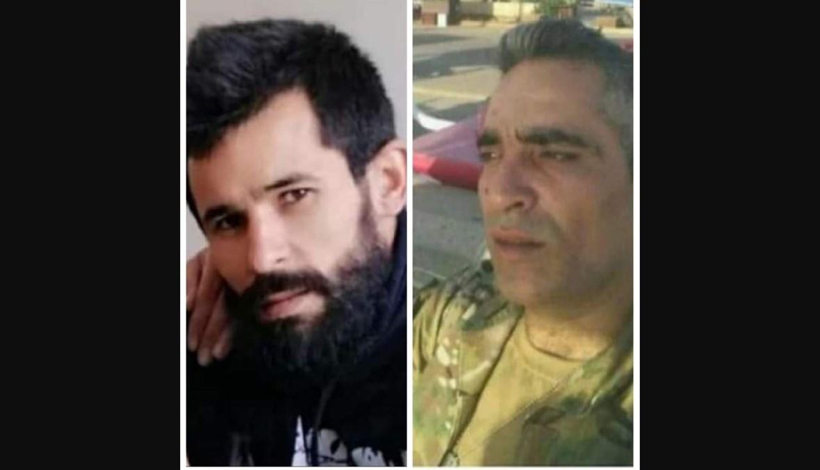 اثنان من ضحايا مجزرة التليل العكارية.