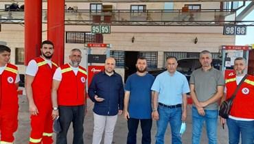 تخصيص محطة للأطقم الإسعافية الطبية والتمريضية في طرابلس.