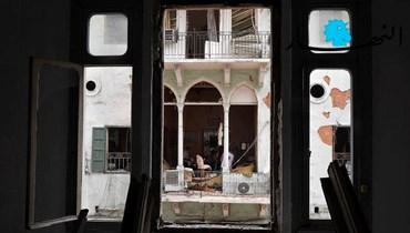 من دمار بيروت (تصوير نبيل اسماعيل)