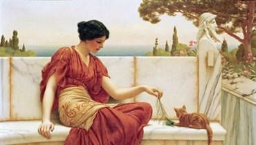 لوحة للرسام الإنكليزي جون ويليام غودوارد.