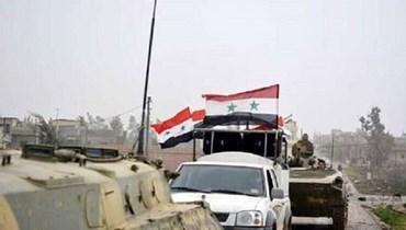 صورة من الارشيف لجنود سوريين في محافظة درعا.