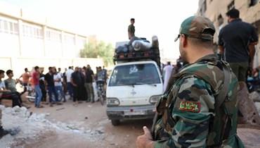 مقتل أربعة جنود سوريين  باستهداف حواجز للجيش في درعا