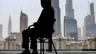 القنصل الإسرائيلي في دبي (ا ف ب)
