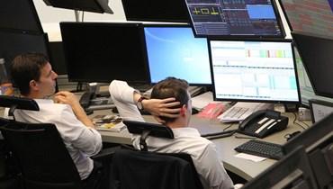 مراقبة الأسهم الأوروبية (تعبيرية- أ ف ب).