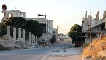 منطقة درعا في سوريا (وكالة سانا).