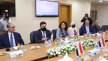 الاجتماع الوزاري لدول خط الغاز العربي.