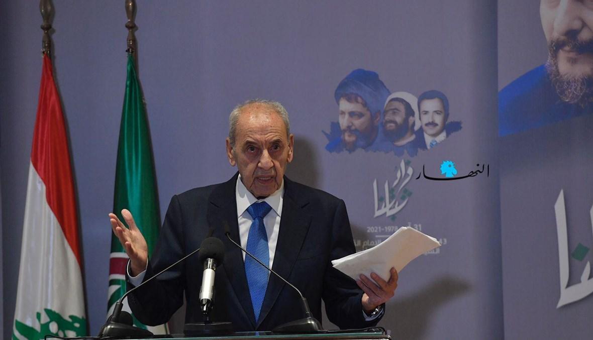 رئيس مجلس النواب نبيه بري (نبيل اسماعيل).