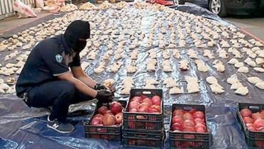"""مخدرات """"حزب الله"""" وتفاح لبنان"""