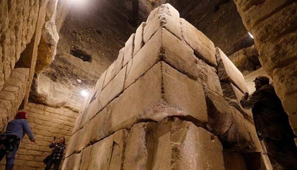 مقبرة الملك زوسر في مصر.