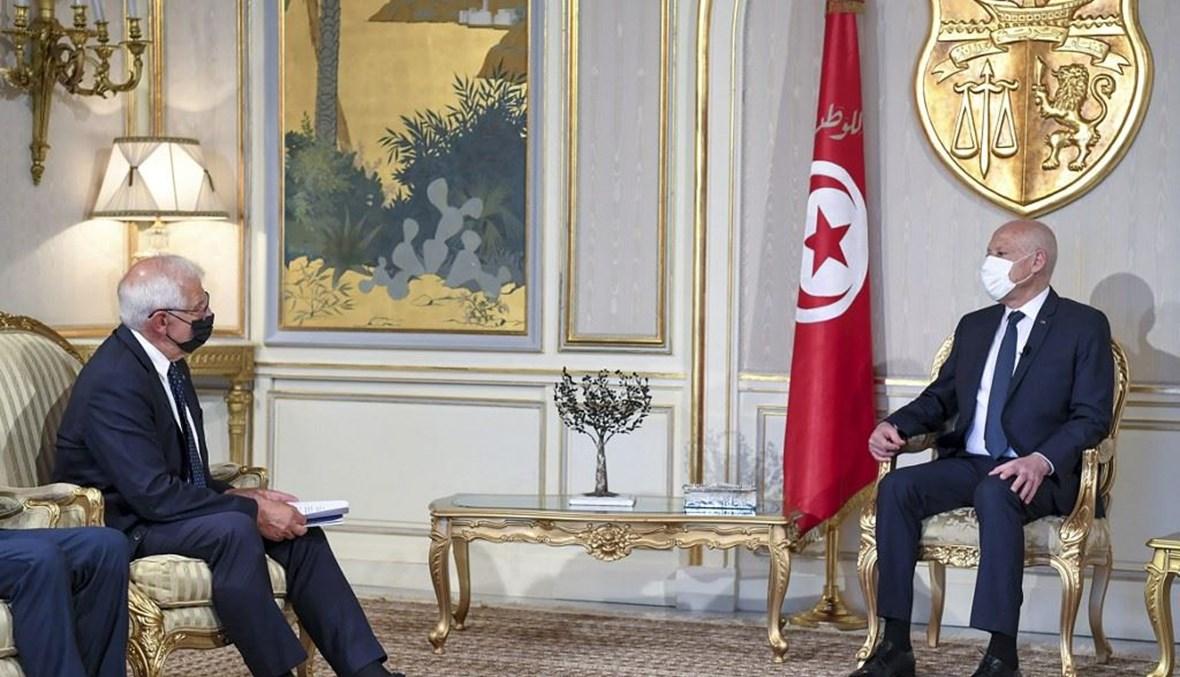 الرئيس التونسي (ا ف ب)