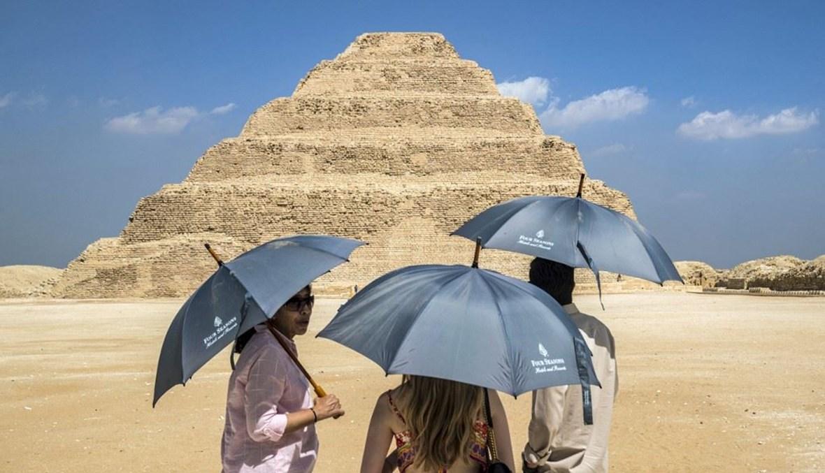 الاهرام في مصر (ا ف ب)