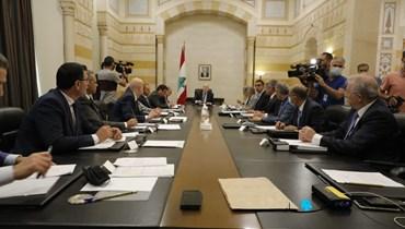 حكومة الرئيس ميقاتي (تصوير مارك فياض).