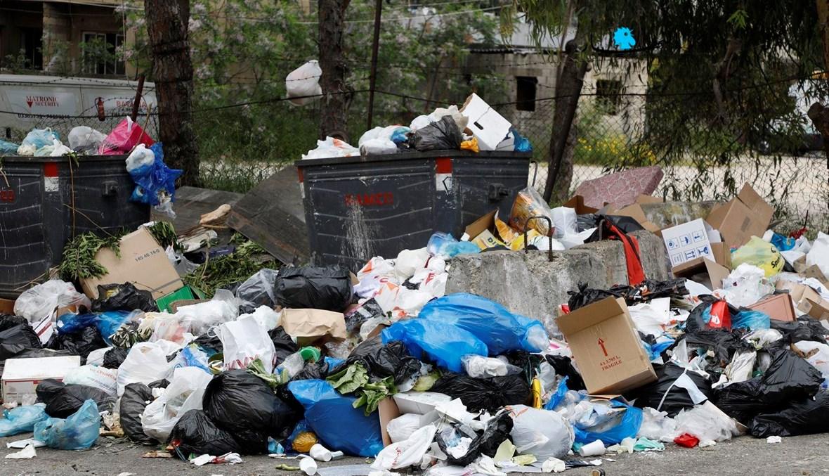 مشهد من أزمة النفايات في نيسان 2020 (أرشيفية- مارك فياض).